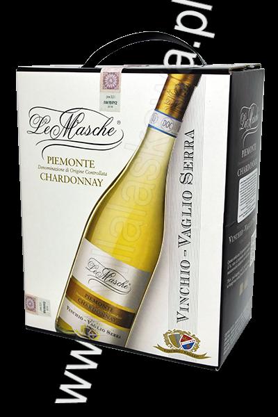 Le Masche Piemonte Chardonnay 3L