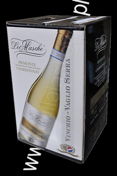 Le Masche Piemonte Chardonnay 10L