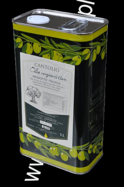 Oliwa vergine z oliwek niefiltrowana
