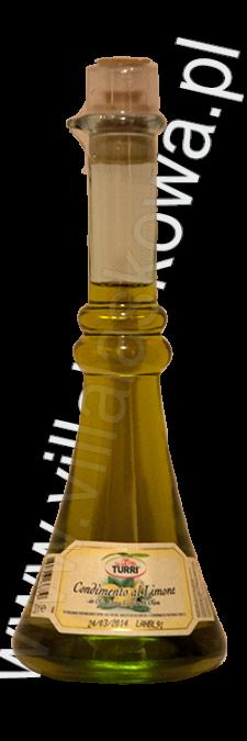 Oliwa extravergine z oliwek aromatyzowana cytryną
